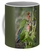 Lovebird Couple  Coffee Mug