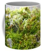 Lovely Green Lichen Coffee Mug