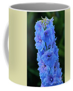 Lovely Larkspur Blue Coffee Mug