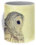 Lovely Lucy Barred Owl Coffee Mug