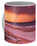Lovers Embrace On The Shoreline Coffee Mug