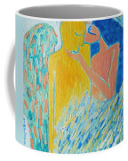 Loving An Angel Coffee Mug by Ana Maria Edulescu