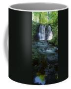 Low Angle View Of A Waterfall Coffee Mug