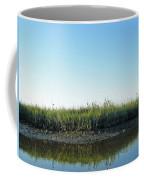 Low Tide In The Tidal Creek Coffee Mug