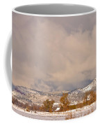 Low Winter Storm Clouds Colorado Rocky Mountain Foothills 5 Coffee Mug