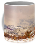 Low Winter Storm Clouds Colorado Rocky Mountain Foothills 6 Coffee Mug