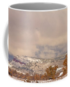 Low Winter Storm Clouds Colorado Rocky Mountain Foothills 7 Coffee Mug
