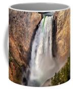 Lower Falls Of Yellowstone Coffee Mug