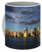 Lower Manhattan At Sunset, Viewed From Coffee Mug
