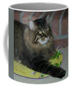 Lucky The Cat Coffee Mug