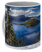 Luminous Crater Lake Coffee Mug