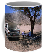 Lunchtime In The Desert Of Sinai Coffee Mug
