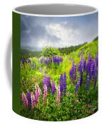 Lupin Flowers In Newfoundland Coffee Mug