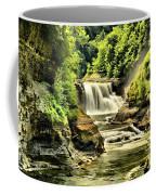 Lush Lower Falls Coffee Mug