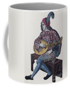 Lute Player, 1839 Coffee Mug