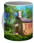 Lutz-franklin Schoolhouse Coffee Mug by Paul Ward