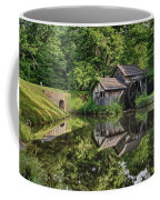 Mabry Mill And Pond With Reflection Coffee Mug