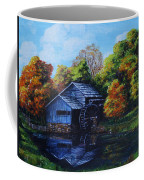 Mabry Mill In Autumn Coffee Mug