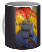 Macaw Parrot Plumes Coffee Mug
