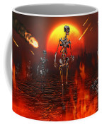 Machines Rise To Take Their Place Coffee Mug by Mark Stevenson