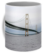 Mackinac Bridge From Water 2 Coffee Mug