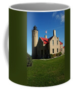 Mackinac Island Lighthouse Coffee Mug