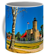 Mackinac Point Light Coffee Mug