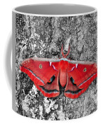 Madam Moth - Red White And Black Coffee Mug