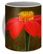 Magenta Zinnia Flower Coffee Mug