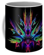 Magic Fire Coffee Mug by Klara Acel
