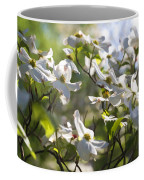 Magical White Flowering Dogwood Blossoms Coffee Mug