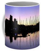 Magnificent Vancouver Sunset Coffee Mug by Will Borden
