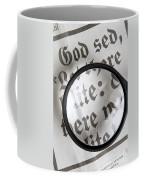 Magnifying News Coffee Mug