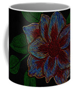 Magnolia Abstract Sketch Coffee Mug