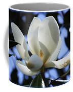Magnolia In Blue Coffee Mug