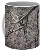 Magnolia Tree Branches Covered With Ice No.3834 Coffee Mug