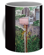 Mailbox Sketchbook Project Down My Street Coffee Mug by Irina Sztukowski
