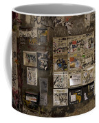 Mailboxes With Graffiti Coffee Mug by RicardMN Photography