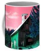 Maine Barn Coffee Mug by Marie Jamieson