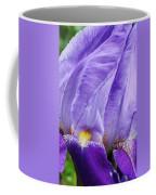 Majestic Purple Iris Coffee Mug