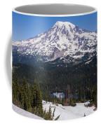 Majestic Rainier Reflected Coffee Mug