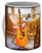 Making Music 004 Coffee Mug by Barry Jones
