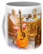 Making Music 005 Coffee Mug by Barry Jones