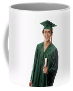 Male Graduate Coffee Mug