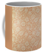 Mallow Wallpaper Design Coffee Mug by William Morris