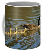 Mama Honker And Goslings Coffee Mug