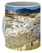 Mammoth Hot Springs Terraces Coffee Mug