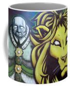 Man And Beast Coffee Mug