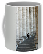 Man And Columns Coffee Mug
