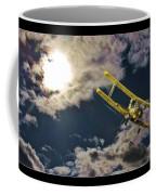 Man In Flight Coffee Mug